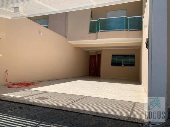 Sobrado Com 3 Dormitórios À Venda, 174 M² Por R$ 720.000,00 - Nova Petrópolis - São Bernardo Do Campo/sp - So0124
