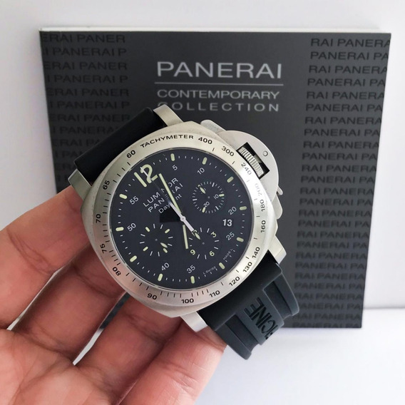 Panerai Luminor Chrono Completo Impecável