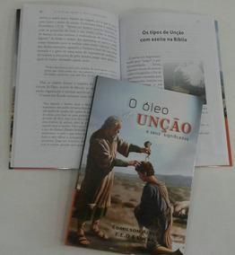 Livro Sobre Óleo De Unção E Suas Histórias Sobre Cada Unção