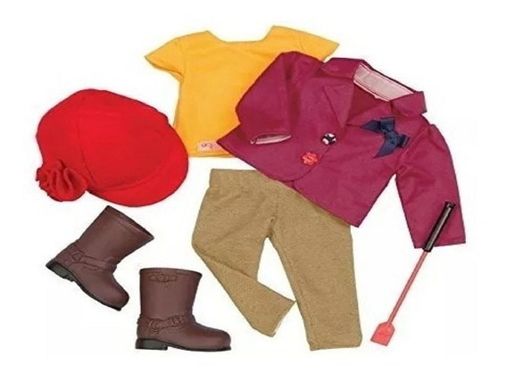 Our Generation Deluxe Riding Outfit Ropa Equitacion