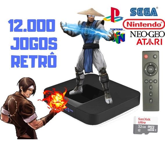 Gamebox Retro Video Game Multi Jogos Antigos Sem Manete