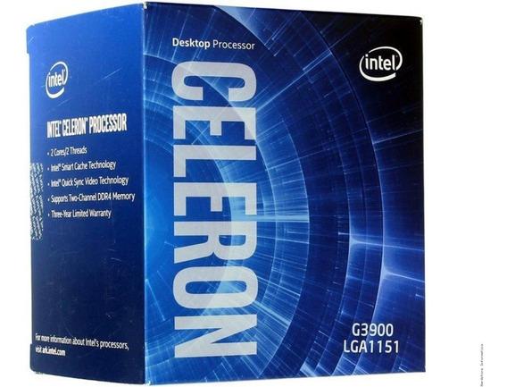 Processador Celeron G3900 Socket 1151 2,8 Ghz