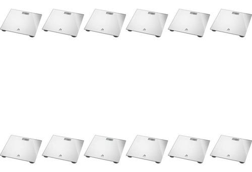 Multilaser Balança P/ Banheiro Digital Prata (kit C/12)
