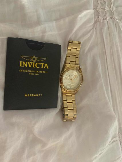 Relógio Invicta Angel Dourado
