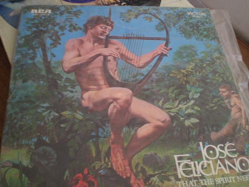 Vinilo De Jose Feliciano  That The Spirit Needs (u104