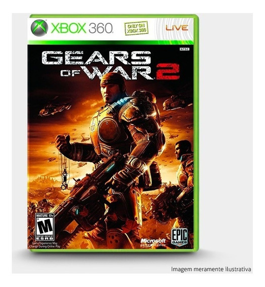 Gears Of War 2 - Original Xbox 360 - Novo