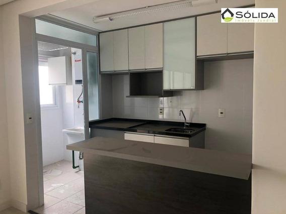 Flat Com 1 Dormitório Para Alugar, 48 M² Por R$ 1.500,00/mês - Vila Arens I - Jundiaí/sp - Fl0020