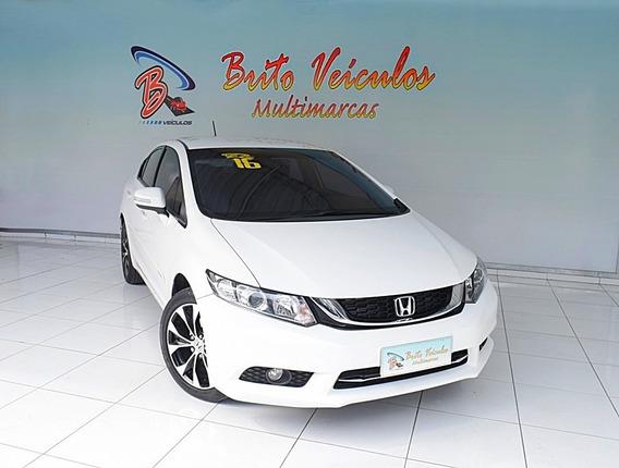 Honda Civic 2.0 Lxr 16v Flex 4p Automático 2016
