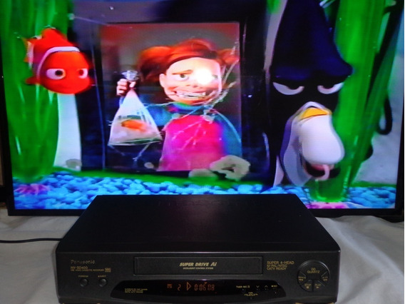 Video Cassete Panasonic Nv-sd400br - Funcionando