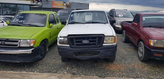 Ford Ranger 2.3 2002 Blanca 4 Puertas