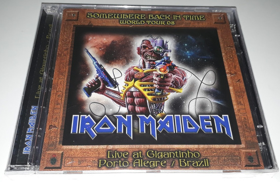 Iron Maiden Somewhere Back In Time World Tour 2008 Cd Duplo