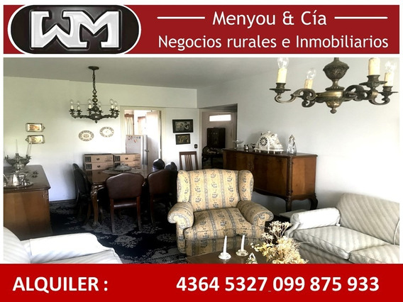 Alquiler Apartamento Trinidad Flores 3 Dormitorios + Cochera
