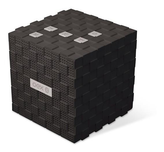 Music Box Caixa De Som Speaker C/ Bluetooth Oex Sk401 Preto