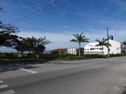 Imagem 1 de 4 de Terreno Comercial Residencial Esquina Beira Mar