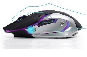 Mouse Gamer Sem Fio Recarregavel Barato Ergonomico 2400 Dpi
