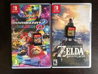 Nintendo Switch Mario Kart Y Zelda