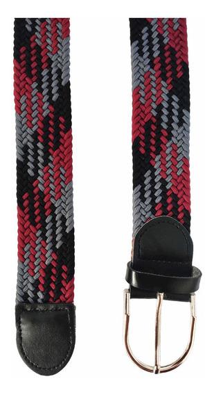 Cinturon Hombre Elastico Trenzado Vng O 3x$499 C/envio Grati
