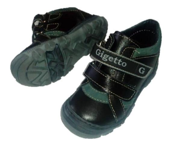 Zapato Niños Gigetto Negro 119
