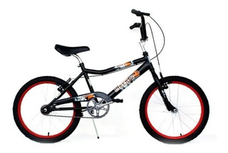 Bicicleta Cross Bmx Liberty Dark R20 Varon +led +linga Envio