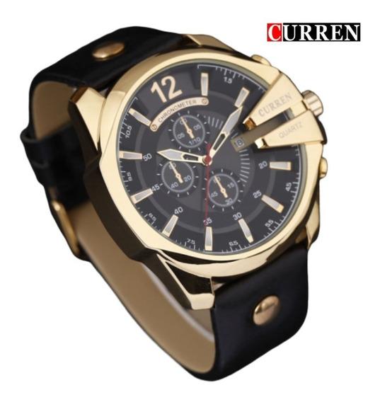 Relógio Curren Masculino Importado Original 8176 Nota Fiscal