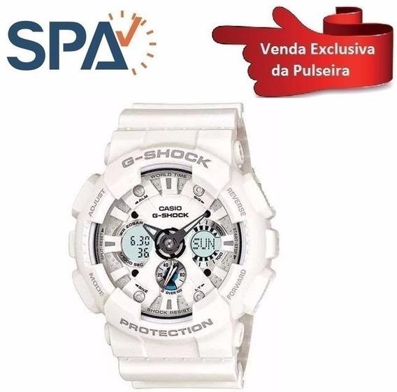 Pulseira Branca G-shock Ga-120a 100%original
