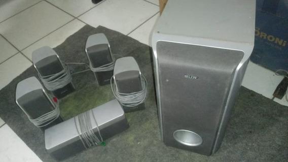Caixa De Som Sony Ss Wp1000 Subworf 6 Pç