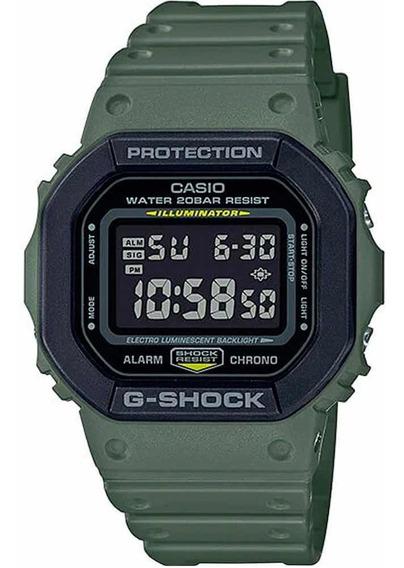 Relógio Casio G-shock Dw-5610su-3dr Verde