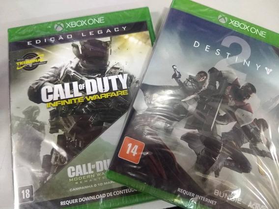 Call Of Duty Infinity + Destiny 2 Xbox One Mídia Física