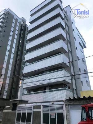 Apartamento Em Praia Grande, 2 Dormitórios Sendo 2 Suítes, Na V Mirim Ap2064 - Ap2064