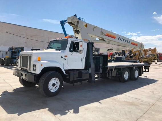 Grúa Titan Sobre Camion International Con Terex De 23.5 Ton