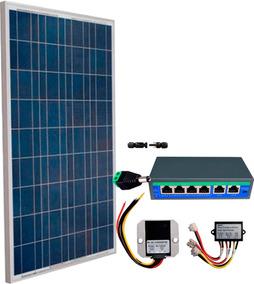 Kit De Energia Solar Para Cuatro Antenas Ubiquiti Mikrotik