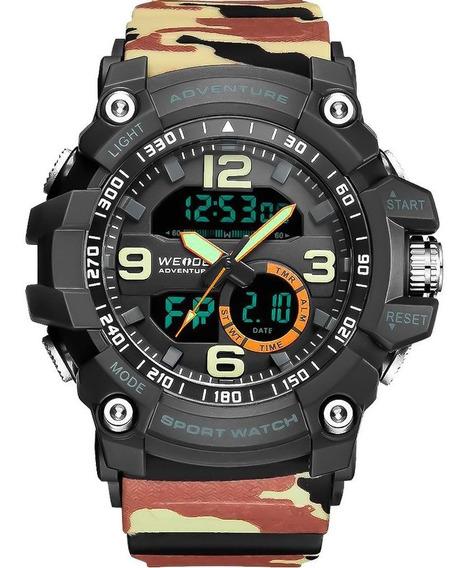 Relógio Masculino Weide Original Com Garantia E Nota Fiscal