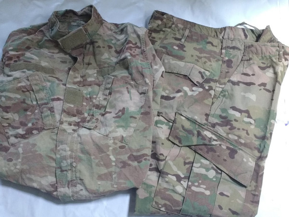 Uniforme Militar Original Us Army Multicam Gotcha