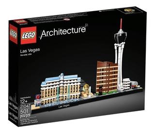 Lego Architecture Las Vegas 21047 Tienda Oficial