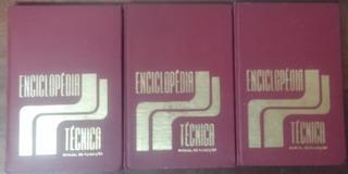 Livro, Coleção: Enciclopédia Técnica Manual De Fundição 3vol