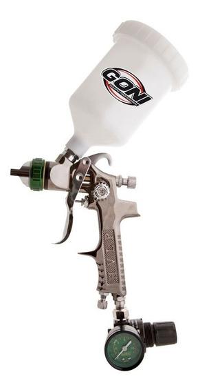 Pistola H.v.l.p. Tornado C/ Regulador Manometrro Gon324