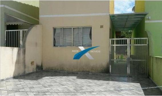 Casa 2 Dormitórios À Venda, 82 M² Por R$ 210.000 - Vila Nova Aparecida - Mogi Das Cruzes/sp - Ca0802