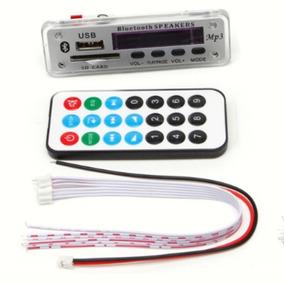 Painel Placa Decodificador Usb Mp3 Bluetooth Leitura Pasta