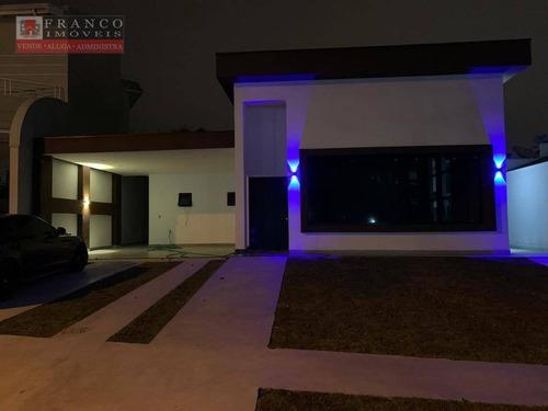 Casa Com 3 Dormitórios, 300 M² - Venda Por R$ 1.600.000,00 Ou Aluguel Por R$ 7.500,00/mês - Condomínio Terras De Vinhedo - Vinhedo/sp - Ca0714