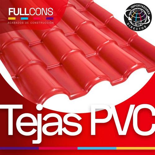 Tejas Española En Pvc Distintos Colores Para Techos