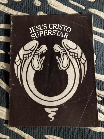 Revista Programa Show Raro Jesus Cristo Superstar Antigo