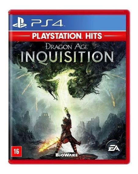 Dragon Age Inquisition Ps4 Mídia Física Nacional Lacrado Rj