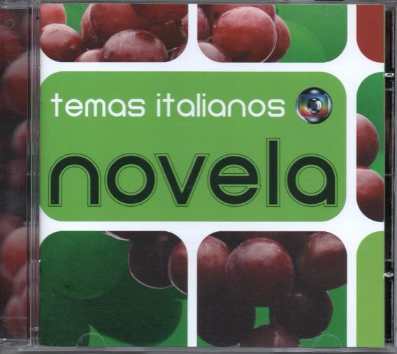 Cd Novela Temas Italianos