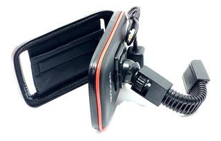 Bolsa Celular Case Impermeável Usb Moto Sp-ca35l