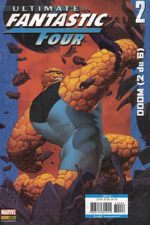 Ultimate Fantastic Four Doom Saga Completa Editorial Panini