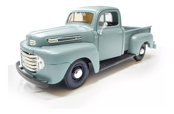 Auto A Escala 1/25 Ford F-1 Pickup 1948 Maisto - Luico