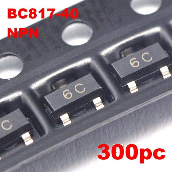 300pc Bc817-40 Transistor Npn Bc817 Smd 6c Sot23