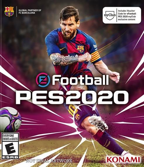 Pes 2020 Xbox One - Digital Online - Envio Fast