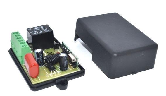 Relê Sem Fio Para Arduino 1 Canal Rf 433mhz 127v + Código