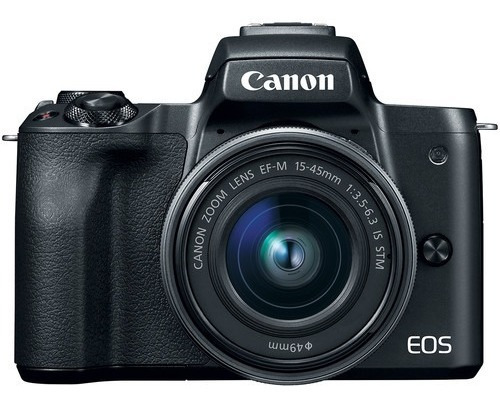 Canon Eos M50 Mirrorless + Lente 15-45mm Is Stm + Adap Ef-m
